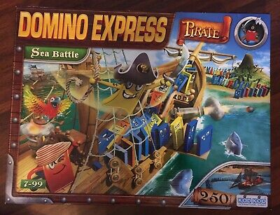 DOMINO EXPRESS PIRATE SEA BATTLE DOMINOES RARE NEW !! PRICE REDUCED !!, used for sale  Shipping to Ireland