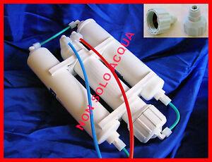 depuratore osmosi inversa con filtri big acquario pesci