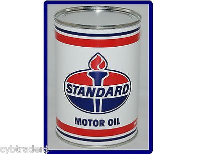 Standard Oil Can Refrigerator / Tool Box Magnet