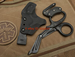 Custom-Kydex-Black-Holster-for-Rip-Shears-Trauma-HSGI-Blow-Out-Kit-Medic-TCCC