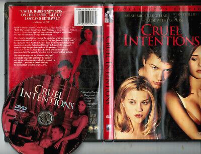 Cruel Intentions DVD (best girl-on-girl kissing scene! Gellar & Blair!) sex