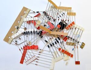 ELECTRONIC COMPONENTS ASSORTMENT -   DIODE ASSORTMENT - PACK OF 100