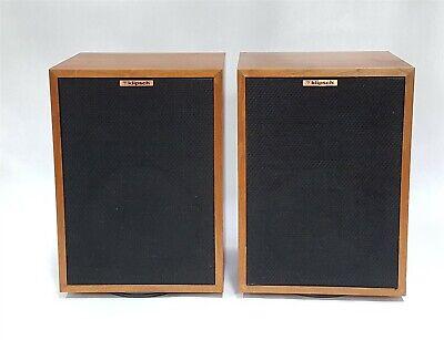 "Klipsch Heresy II 3-Way Loudspeaker Floor Speaker Pair 4-Ohm 100W 12"" Woofer"