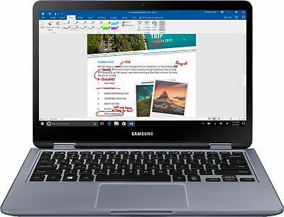 """Samsung - Notebook 7 Spin 2-in-1 13.3"""" Touch-Screen Laptop - Intel Core i5 - ..."""