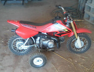 Honda  training wheels xr50 xr 50 crf50 crf z50 z50r