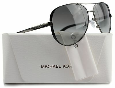 Michael Kors MK5004 Chelsea Aviator Sunglasses Gunmetal w/Grey Gradient (1013...