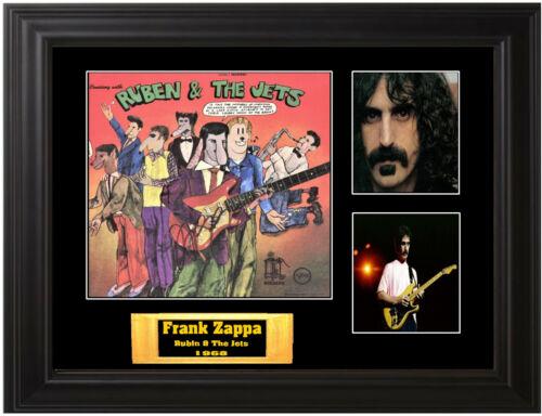 Frank Zappa Autographed lp
