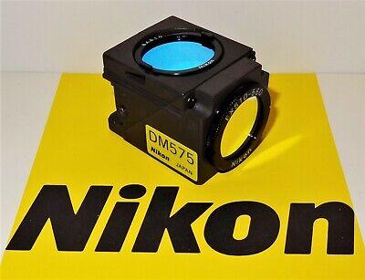 Nikon Green G-2b Fluorescent Microscope Filter Cube For E400 600 Te200300