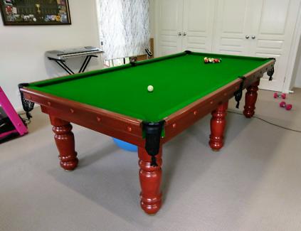 Pool Snooker Table 9 Foot
