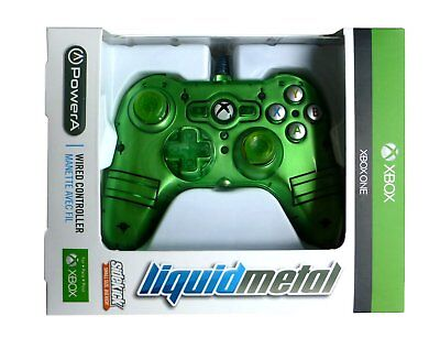 XBOX ONE Mini Wired Controller - Green - Officially Licensed by Microsoft - NEW