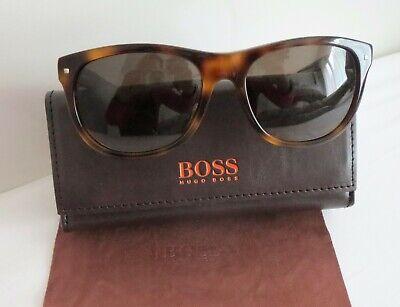Luxus Hugo Boss ORANGE Damen Sonnenbrille NEU BO0103/S 05L / CC 5517 140 Havanna