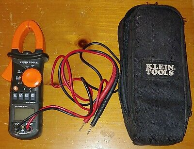 Klein Tools Cl200 600a Ac Digital Clamp Meter With Zip Up Case