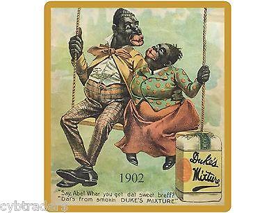 1902 Duke's Mixture Tobacco Black Americana Ad NEW! Refrigerator Magnet