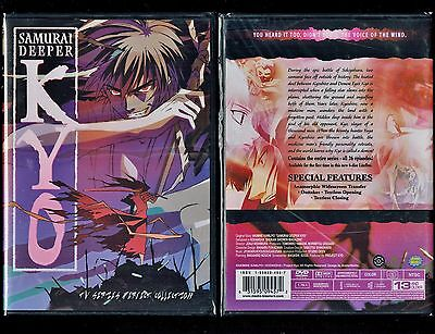 Samurai Deeper Kyo   Complete Series   Brand New 6 Disc Anime Set