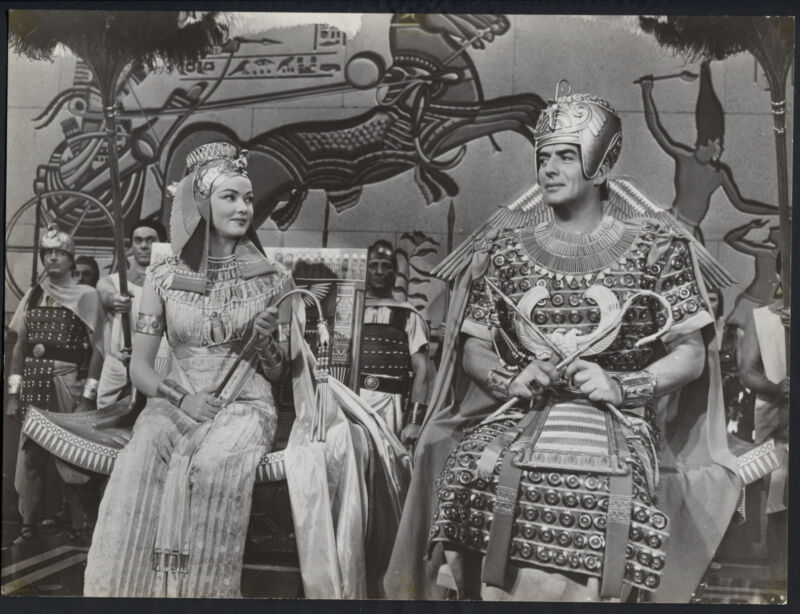 The Egyptian '54 GENE TIERNEY VICTOR MATURE VERY RARE