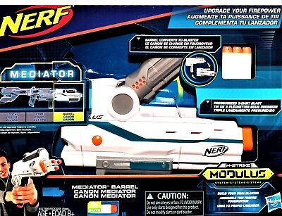 Nerf N-Strike Modulus System Mediator Barrel and/or Stock New in Box