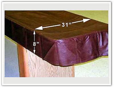 """12"""" SHUFFLEBOARD TABLE PREMIUM DUST COVER -CLOTH BACKING-PROTECT YOUR INVESTMENT"""