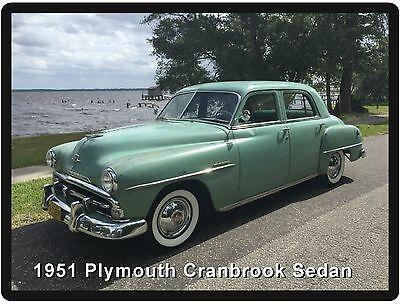 1951 Plymouth Cranbrook Sedan Refrigerator / Tool Box Magnet