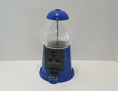 Vintage Blue Gumball Candy Machine