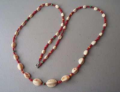 Restrung from Decades Ago '30s Museum Collector's Shells Necklace