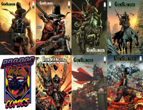 Gunslinger Spawn Main Cover Set A-G Lot of All 7 Covers Image 2021 NM+