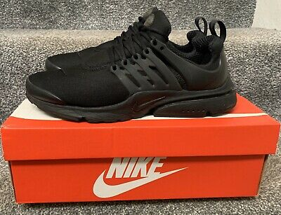 Nike Air Presto Mens Trainers Black Size 8