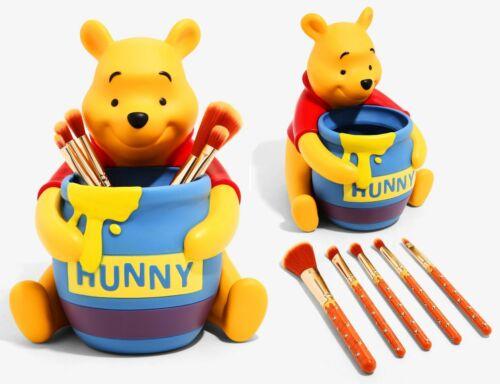 Disney Loungefly Winnie the Pooh Honey Pot Figure Makeup Paint Brush Holder Set