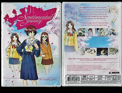 Sentimental Journey   Complete Series   Brand New 2 Dvd Anime Set