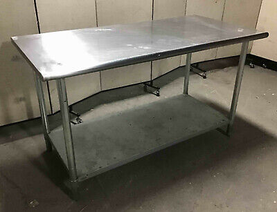 Stainless Steel 60 X 30 Table With Undershelf