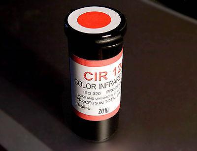 Color Infrared Film - CIR 120 ( alternative to Aerochrome )