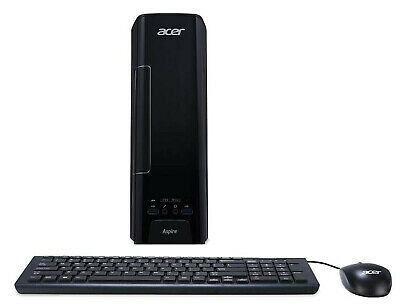 Acer Aspire AXC-730-ES11 Mini Tower Desktop PC 8GB, 1TB, 2GHz Dual-Core