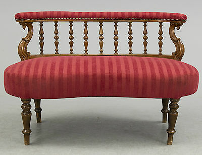 Antique Edwardian Mahogany  Sofa FROM AROUND 1900