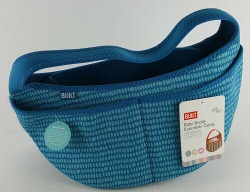BUILT BABY BUDDY ESSENTIALS CADDY PORTABLE STORAGE BAG BLUE DOT BPA FREE