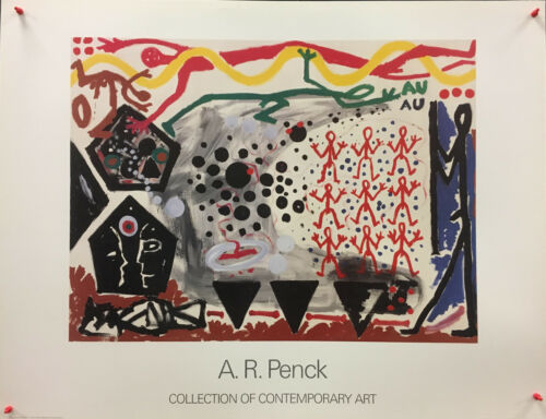 A.R.+Penck+-+Event+in+New+York+2+1983+%28Collection+of+Contemporay+Art%29+-+1991