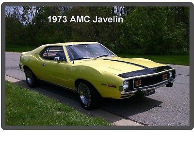 1973 AMC Javelin  Auto Refrigerator / Tool Box  Magnet