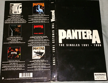PANTERA The singles******1996 CD's collection
