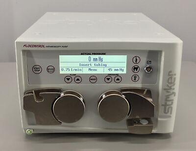 Stryker 350-600-001 Flocontrol Arthroscopy Pump Console 30 Day Warranty