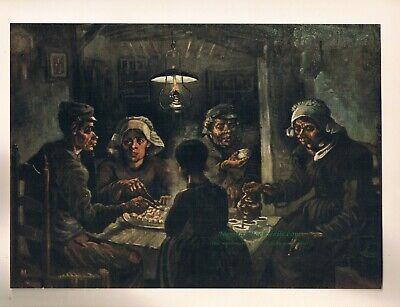Vincent Van Gogh The Potato Eaters (Vincent Van Gogh print:
