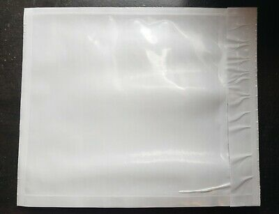 100 - Clear 4 12 X 5 12 Packing List Envelope Invoice Slip Self Seal Pouch