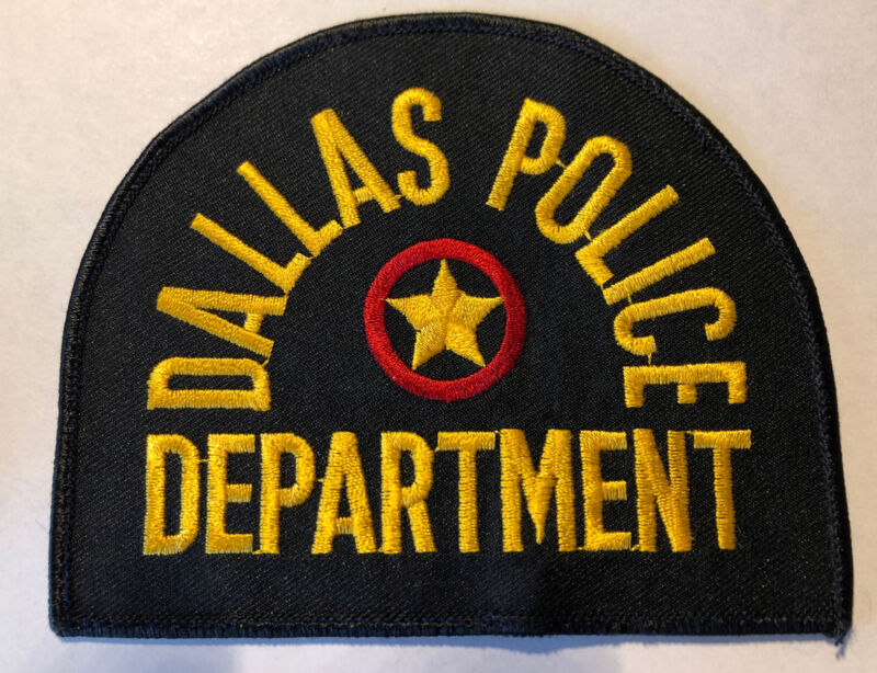 Dallas Texas Police Patch ~ New Condition