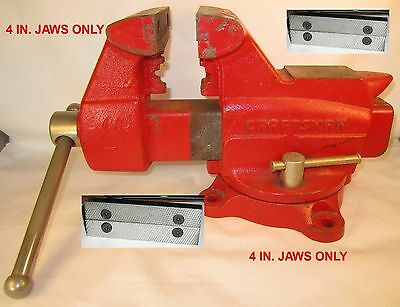 Craftsmancolumbian Vise Jaws. 4 Wide 2 12 C-c D44m3 Jaws Only