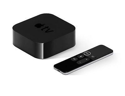 Apple TV 4th genesis 32GB Siri Remote HDMI Ethernet Wi‑Fi Bluetooth MR912HB/A