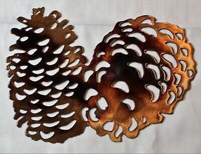Metal Art Pinecone - Pine Cones Metal Wall Art Accents