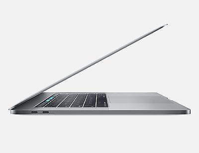 """2017 MacBook Pro 15"""", Silver, 2.8GHz i7, 512GB HD, 16GB Mem, Touch Bar & ID"""