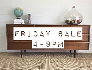 Midcentury and Danish teak furniture SALE