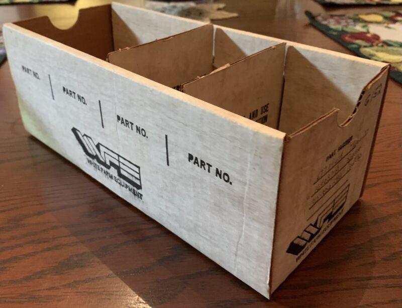 White Farm Equipemnt Parts Box