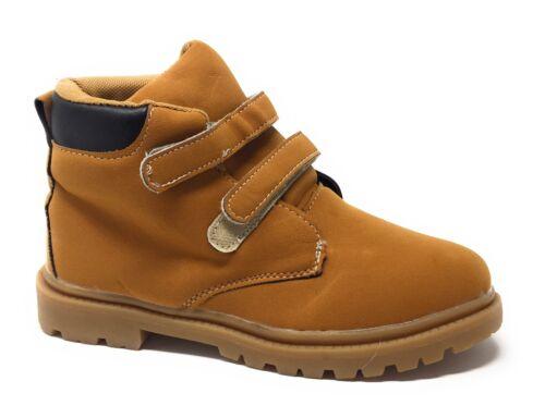 big kid size 3 tan boot