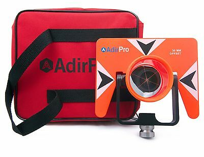 Adirpro All-metal Single Tilt Prism With Case Surveying Seco Topcon Spectra