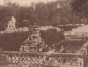 G2301-France-Nimes-Le-Jardin-de-la-Fontaine-Stampa-d-039-epoca-1930-print