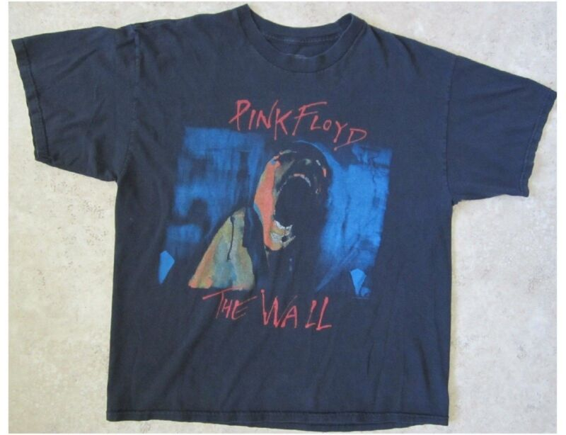 PINK FLOYD The Wall Size XL Black T-Shirt (A)